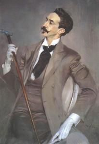 Portrait of Robert de Montesquiou, by Giovanni Boldini,