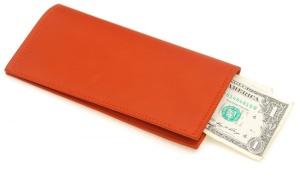 A breast wallet