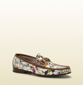 This shoe by Gucci would probably be on our top 5 list. This is not even a shoe, it's beyond and up.
