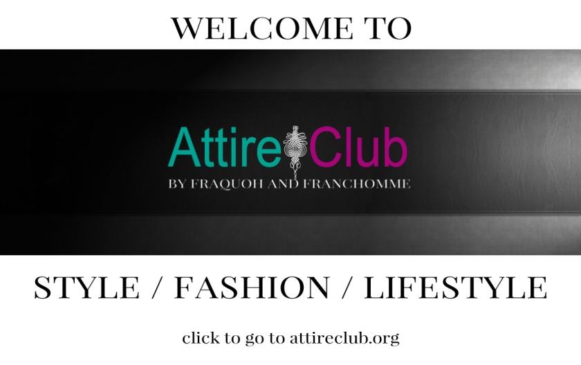 Attire Club Home page